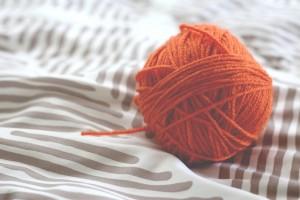手作りの編み物