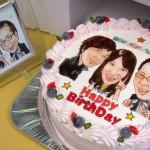 スイーツ_似顔絵ケーキ